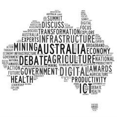 Australia wordmap