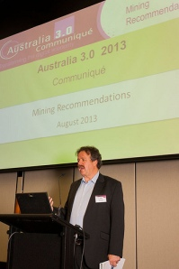 Australia 3.0 Mining Stream Leader Colin Farrelly