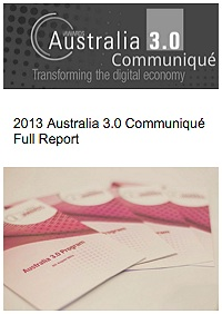 Australia 3.0 Communique 2013 Full Report_tmb